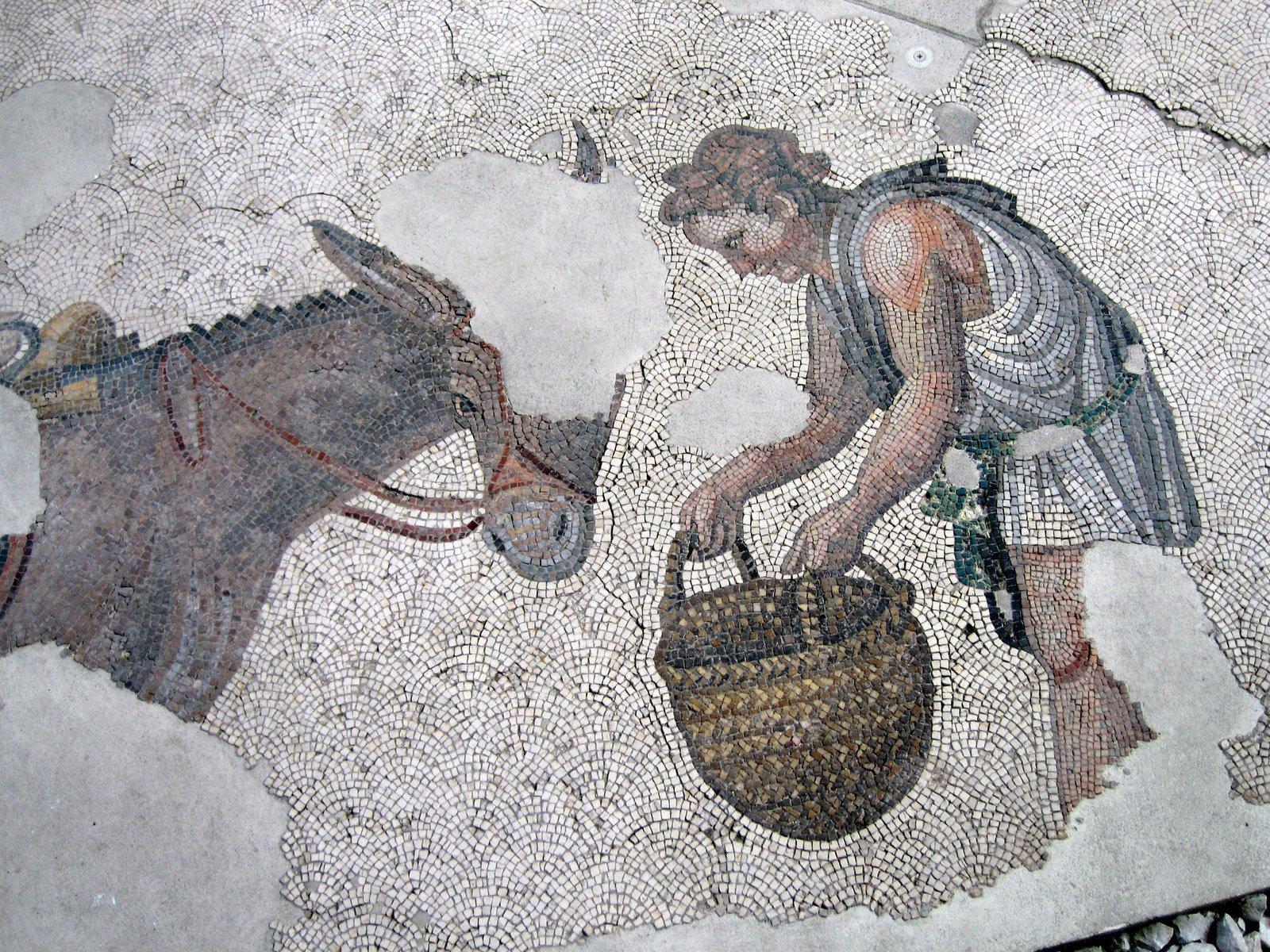 Museum Mosaics Istanbul Mosaic Museum Ruins of The